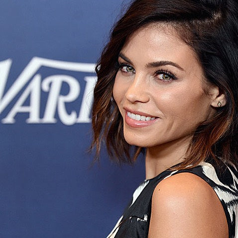 Jenna Dewan Tatum wore EF Collection 14k Yellow Gold Diamond Stud Earrings to the Variety's Power of Women Luncheon.