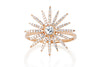 EF Collection Starburst Ring 14k Rose Gold