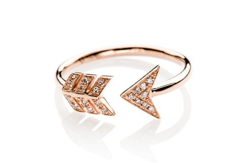 EF Collection Diamond Arrow Ring - 1