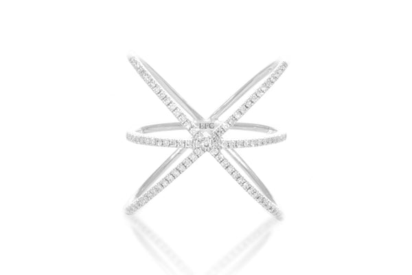 EF Collection Diamond Cage Ring - 1