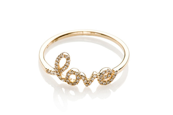 EF Collection Diamond Love Ring - 1