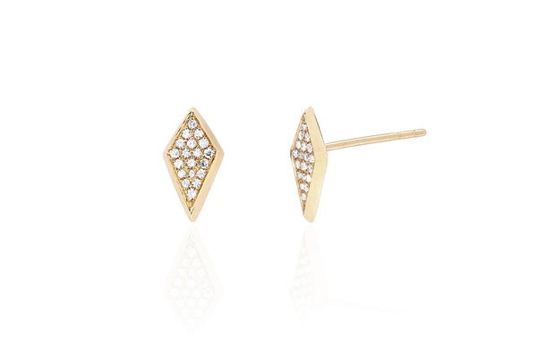 EF Collection Diamond Stud Earrings - 1