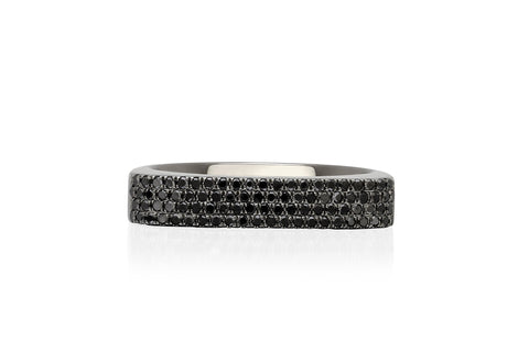 EF Collection Diamond Jumbo Bar Ring - 1