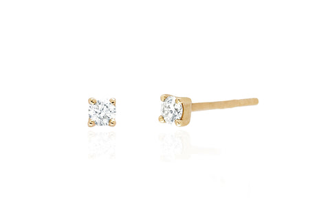 EF Collection Diamond Prong Stud