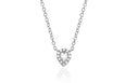 Diamond White Topaz Mini Teardrop Choker