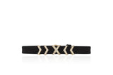 EF Collection Diamond Ultra X Leather Bracelet - 1