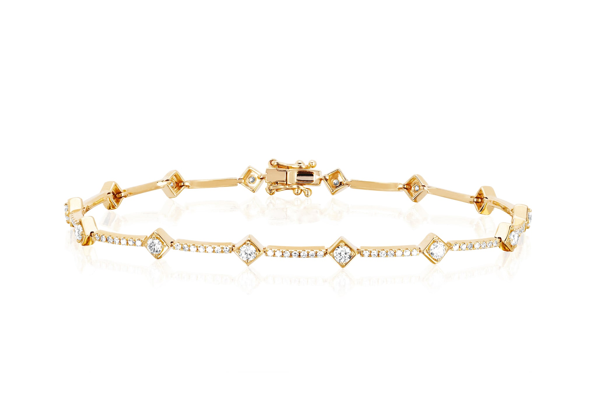 product bracelet diamondbracelet diamond gold yellow eternity exchange the