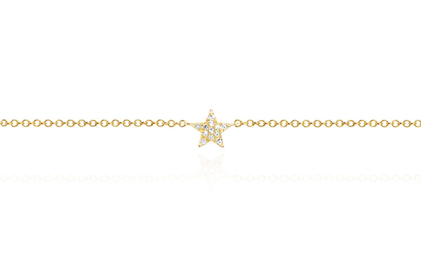 Diamond Star Anklet
