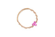 Pink Sapphire Trio Chain Ring