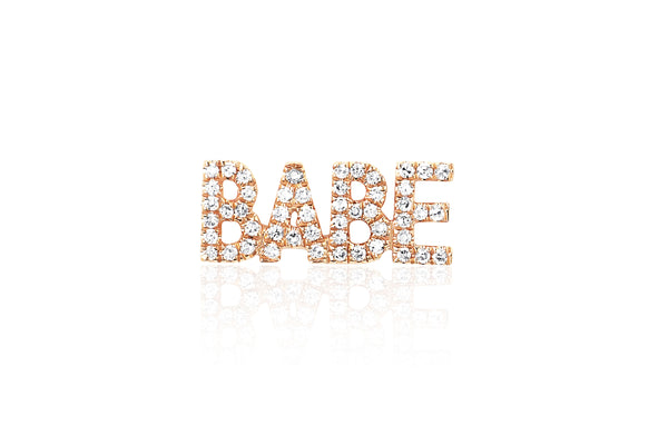 Diamond Babe Stud Earring