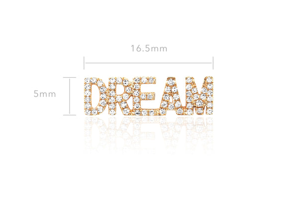 Diamond Dream Stud Earring
