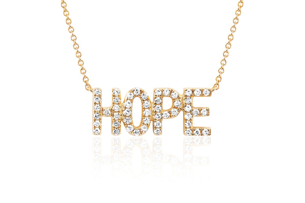 Mini Diamond Hope Necklace