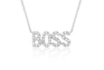 Mini Diamond Boss Necklace