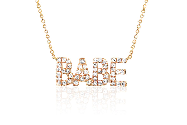 Mini Diamond Babe Necklace