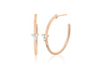 Diamond Trio Essential Hoop Earring