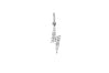 Diamond Lightning Bolt Necklace Charm