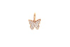 Diamond Butterfly Necklace Charm