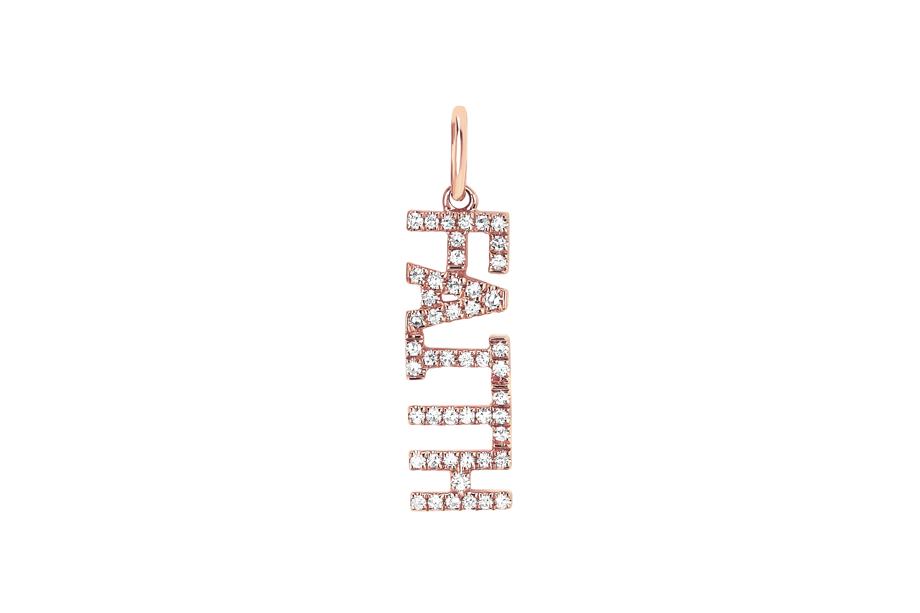 Diamond Faith Necklace Charm