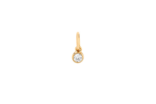 Diamond Bezel Charm