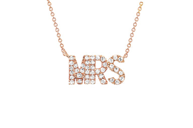 Diamond Mrs Necklace