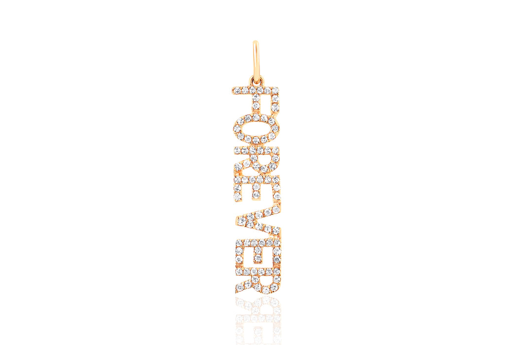Diamond Forever Necklace Charm