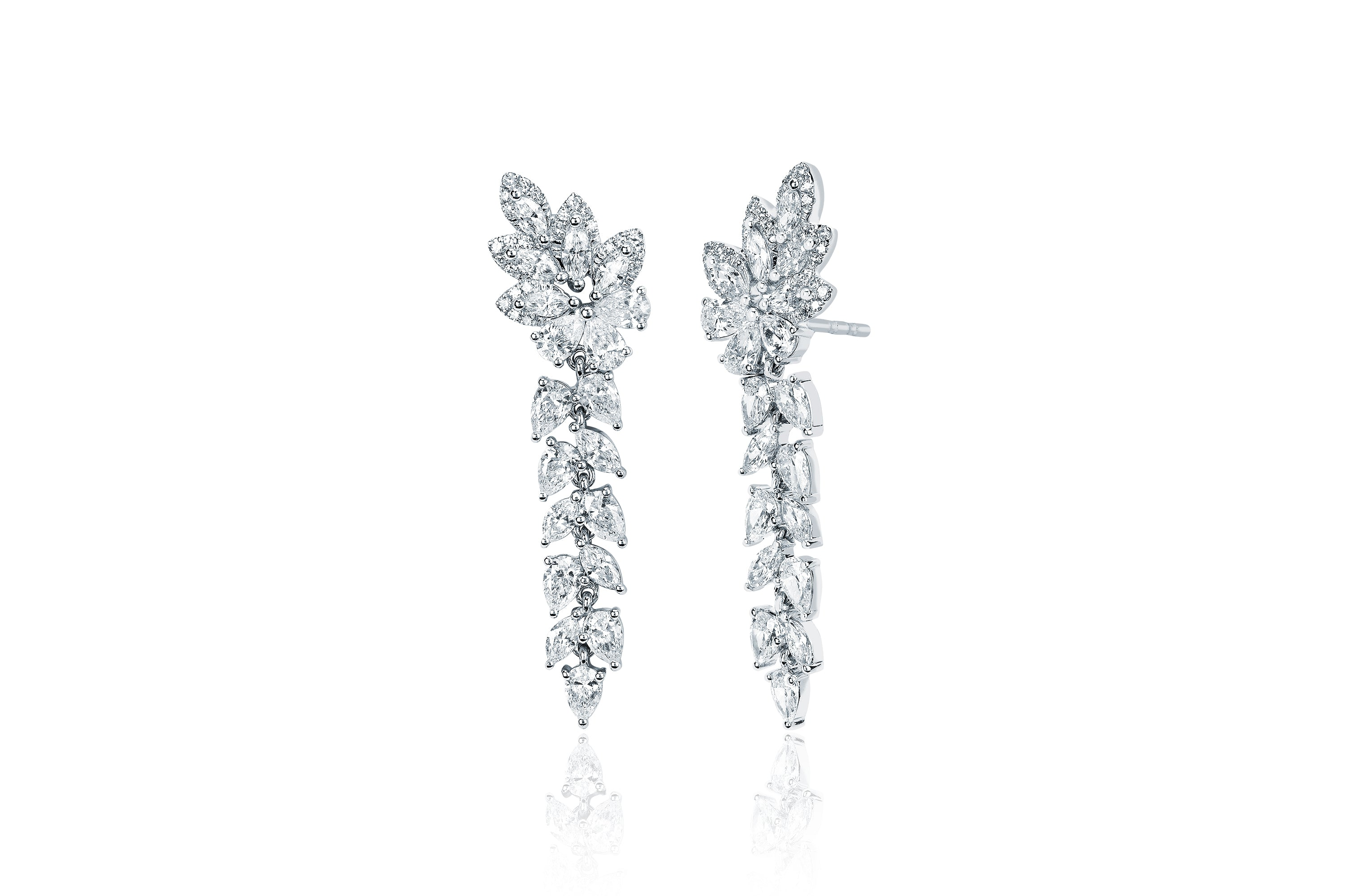 Diamond Pretty Lady Drop Earring