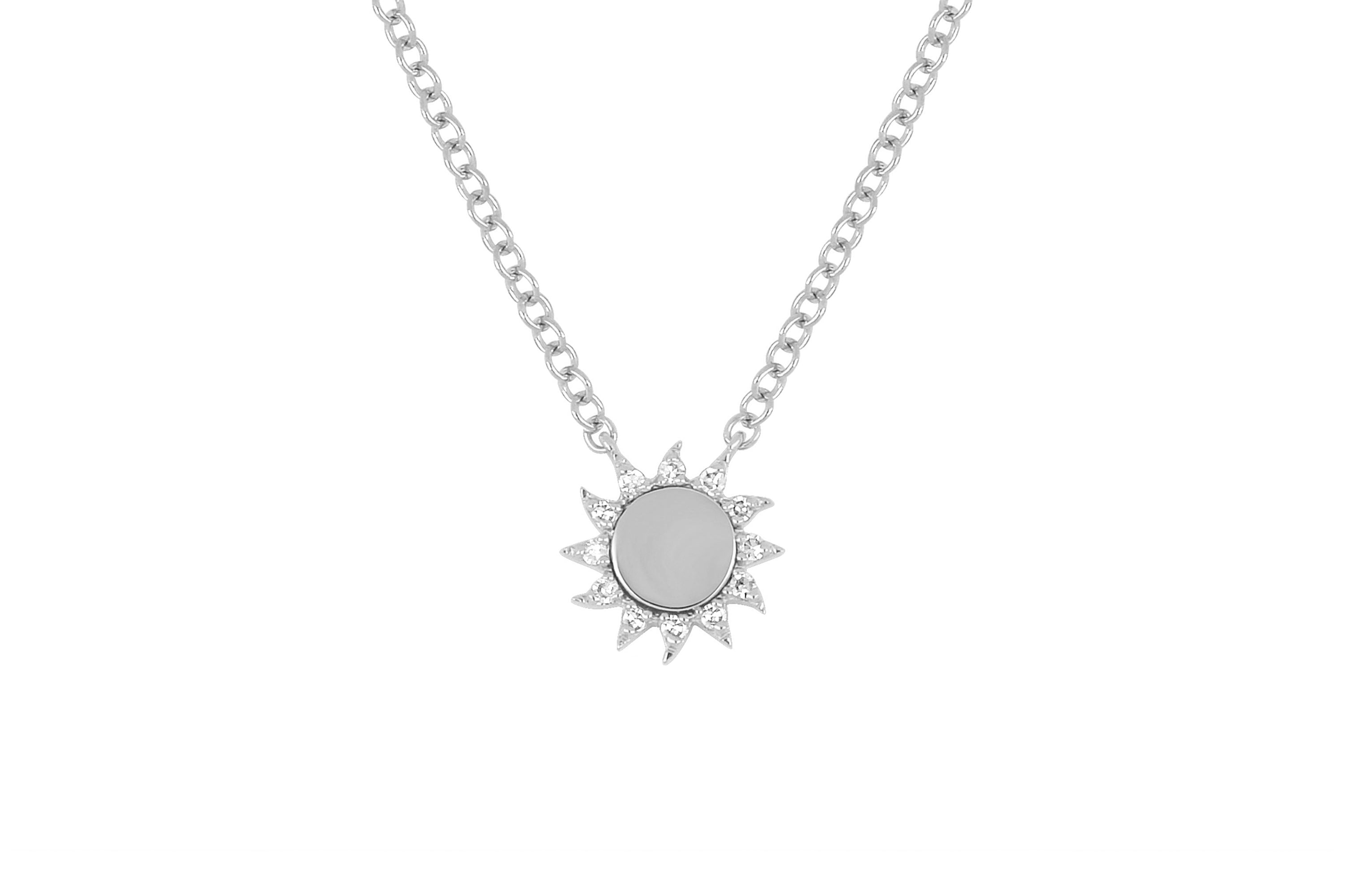 You Are My Sunshine Diamond Necklace