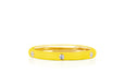 SoulCycle X EF Collection 3 Diamond Yellow Enamel Stack Ring