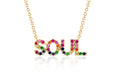 SoulCycle X EF Collection Rainbow Soul Necklace