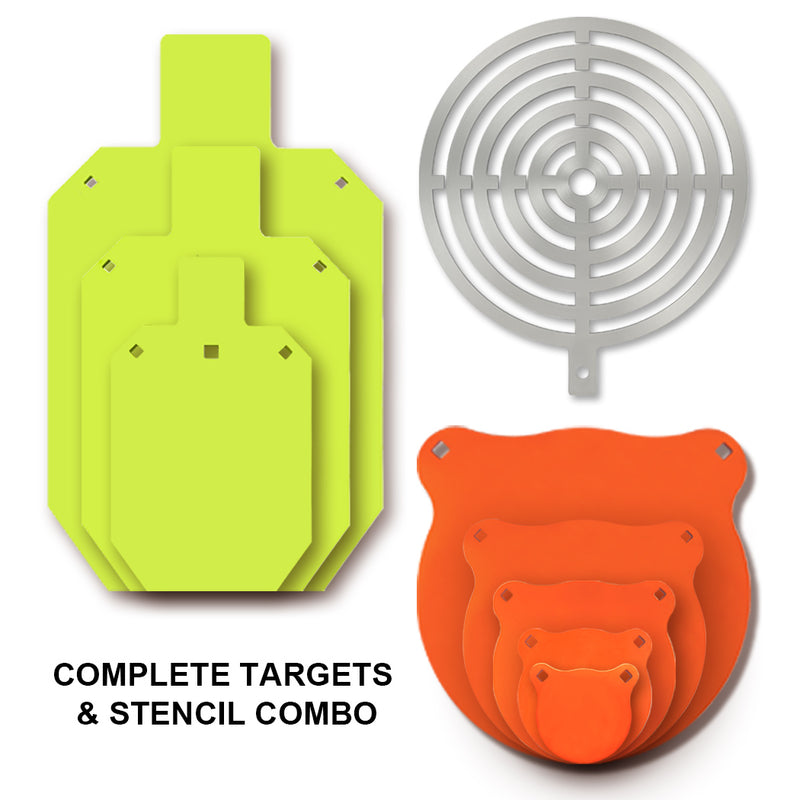 Painting Stencil & Targets Set 7