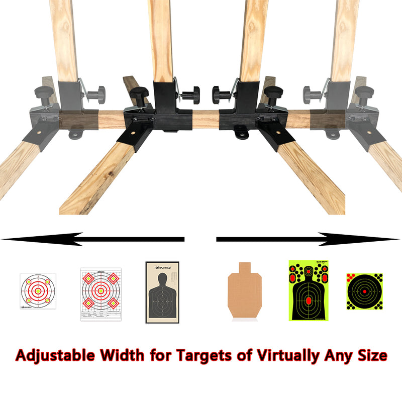 Adjustable Paper Target Stand Base