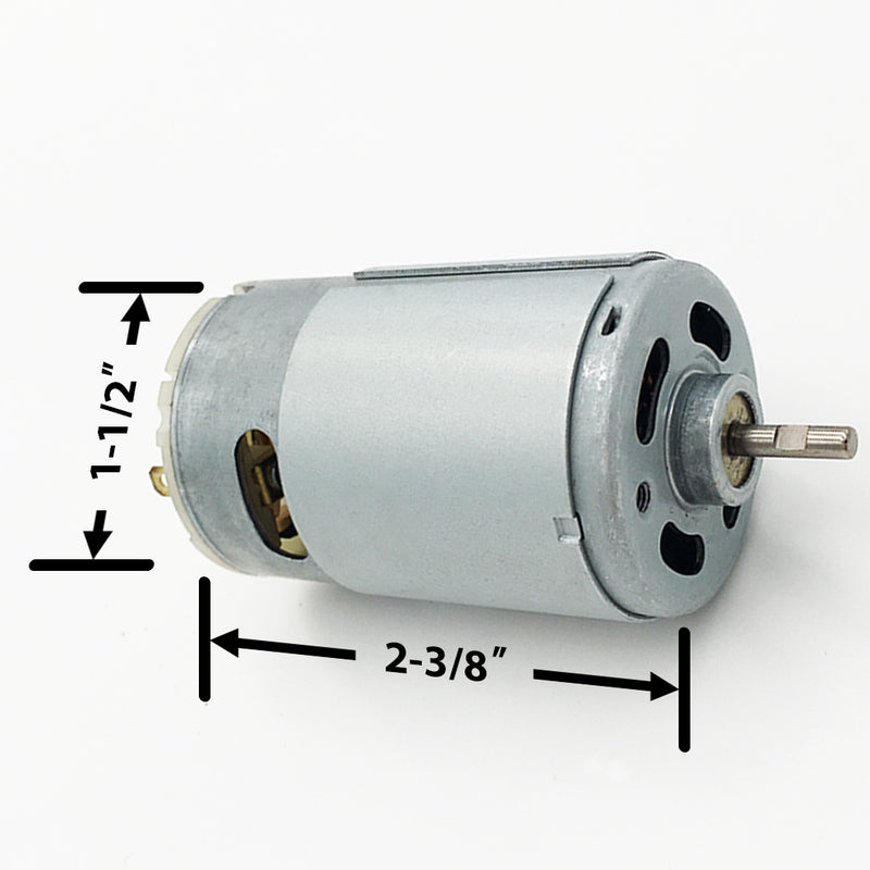 "6V 1/8"" Shaft Feeder Replacement Motor"