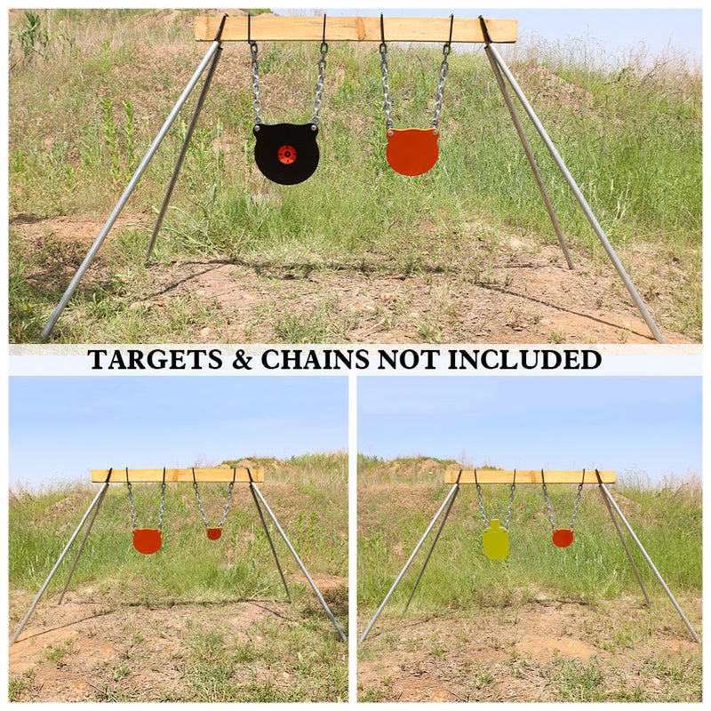AR500 Steel Target Stand Kit - for 2X4