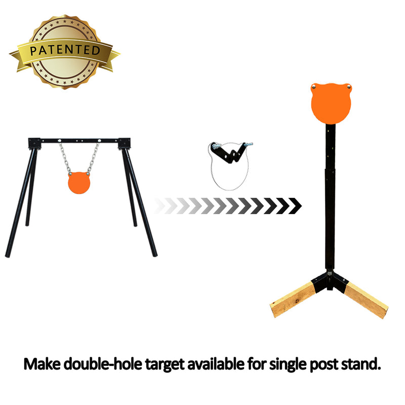 "Tripod Base Stand + Mounting Kit + 6"" Gong"