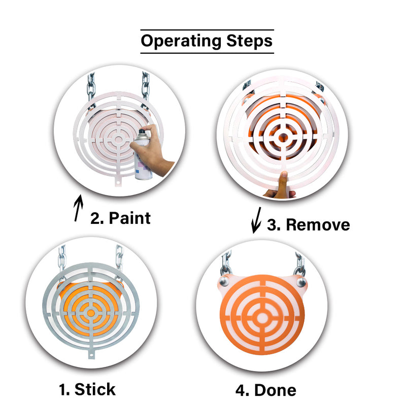 Magnetic Target Painting Stencil