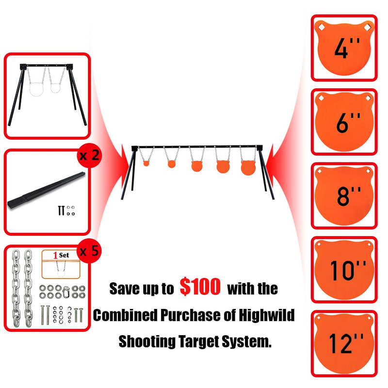 B001 Stand Complete Target System 45