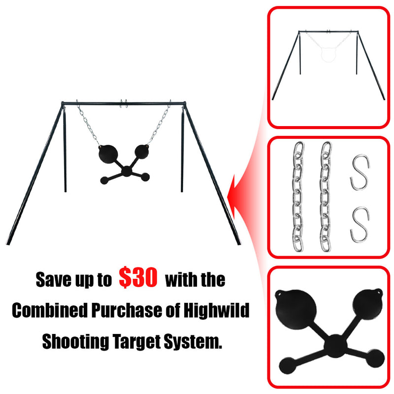 B003 Stand + Mounting Kit + Multi-Circle Target