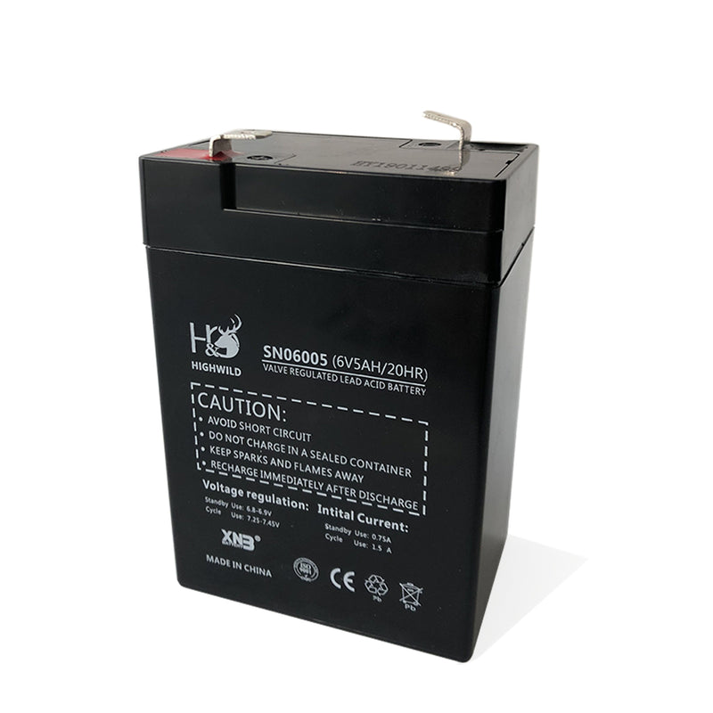 6V Rechargeable Safety Battery