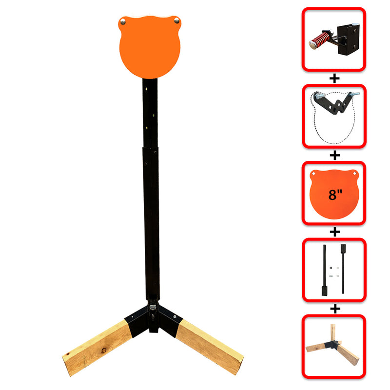 "Tripod Base Stand + Mounting Kit + 8"" Gong"