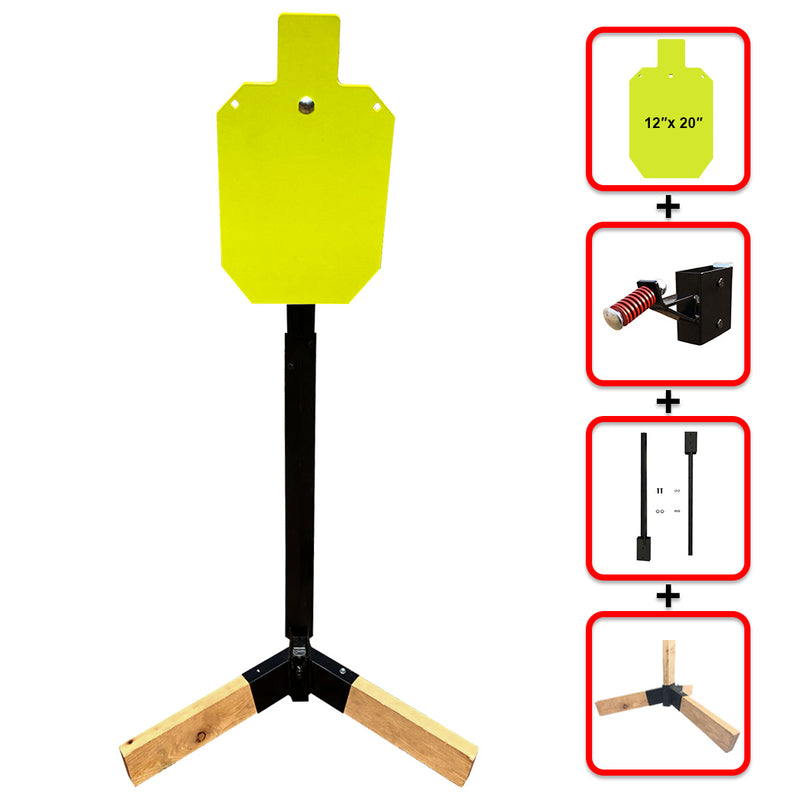 "Tripod Base Stand + Mounting Kit + 12"" X 20"" Torso"