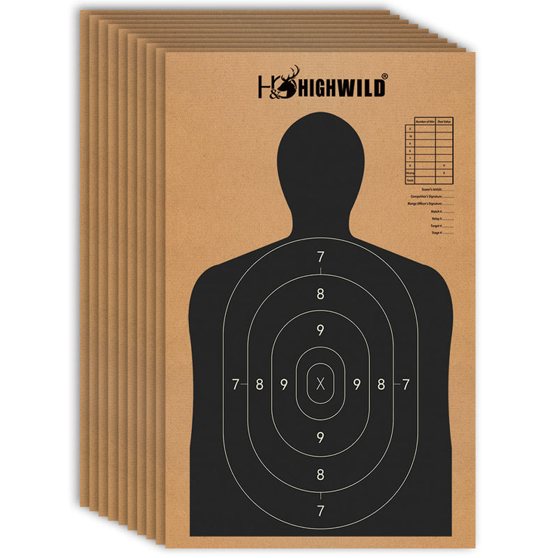 "18"" X 30"" Cardboard Targets - Pack of 25"