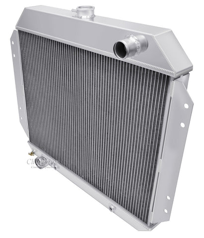 "Champion Radiators - Ford Truck (67-79)/Bronco(78-79) - 19"" Tall Core Engine Side Mounting - 3 Row"