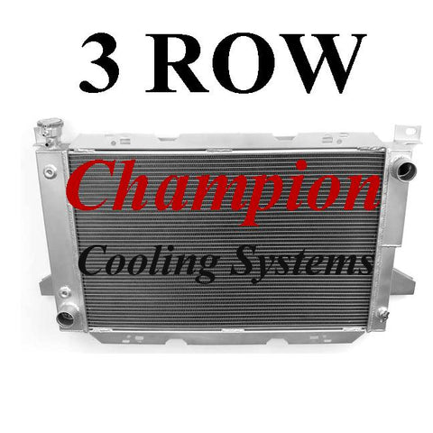 Champion Radiators - Ford Truck and Bronco (80-97) - 3 Row