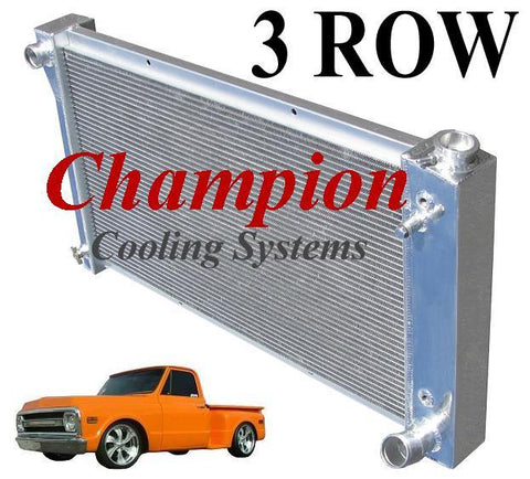 Champion Radiators - Chevrolet C/K(67-72)/Blazer/Jimmy(67-72) - 3 Row