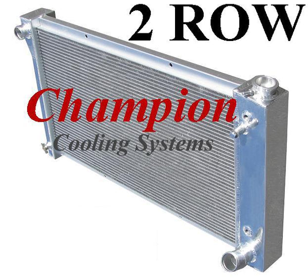 Champion Radiators - Chevrolet C/K(67-72)/Blazer/Jimmy(67-72) - 2 Row