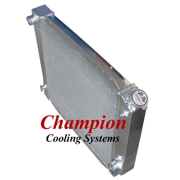 Champion Radiators - Ford Bronco (66-77) - 2 row