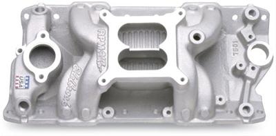 Edelbrock 7501 - RPM Air Gap Intake Manifolds - Small Block Chevy
