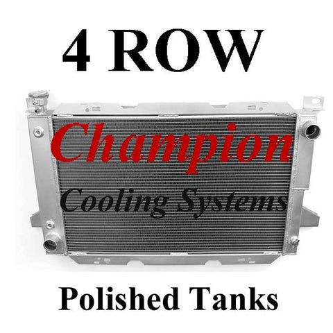 Champion Radiators - Ford Truck and Bronco (80-97) - 4 Row