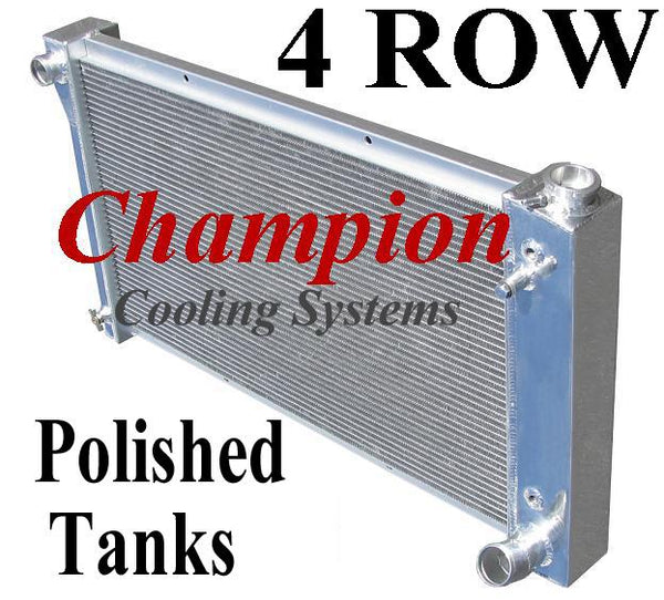 Champion Radiators - Chevrolet C/K(67-72)/Blazer/Jimmy(67-72) - 4 Row