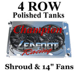 "Champion Radiators - Chevrolet C/K(73-87)/Blazer/Jimmy(73-91) - 4 Row - 19"" Tall"